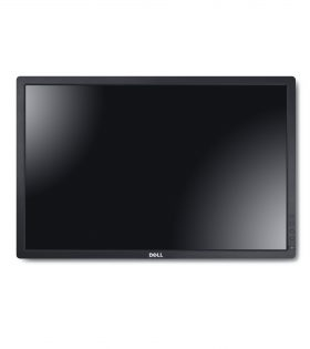 Dell UltraSharp 24-inch U2412M Widescreen Monitor with LED, panel head only without stand, for wall-mount usage.