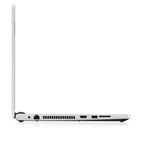 Dell Inspiron 15 5000 Series (Model 5558) Non-Touch 15-inch notebook computer, codename Tulip 15, in Alpine White with a Broadwell (BDW) processor.