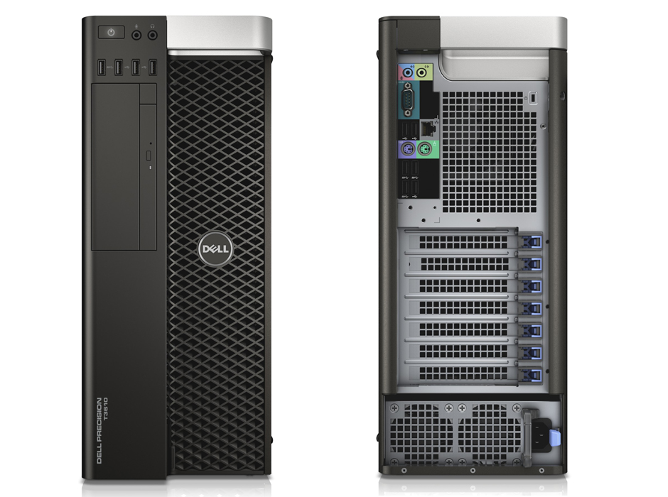 Dell Precision T3610 fixed tower workstation.