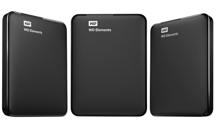 Western Digital Elements External Hard Drive 1TB (2)