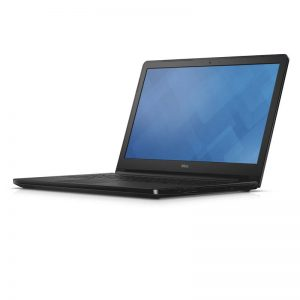Dell Inspiron 15 5000 Series (Model 5558) Non-Touch 15-inch notebook computer, codename Tulip 15, in Patterned Black with a Broadwell (BDW) processor.