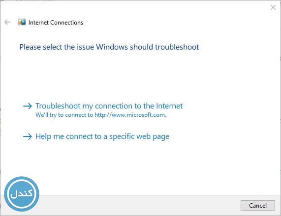 خطای Windows could not find a driver for your network adapter