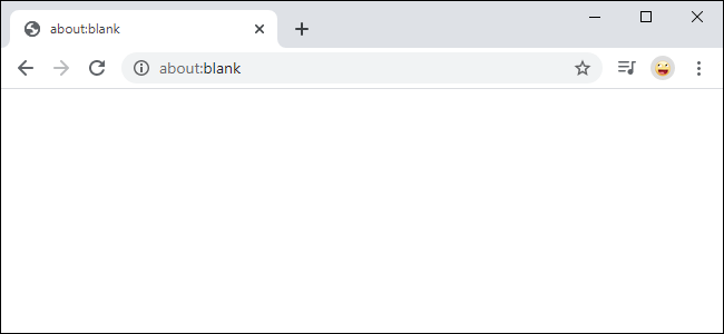 about:blank چیست
